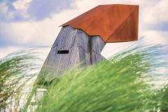Vogelkijkhut op de Markerwadden