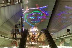 Noord Zuid lijn metrostation Vijzelstraat