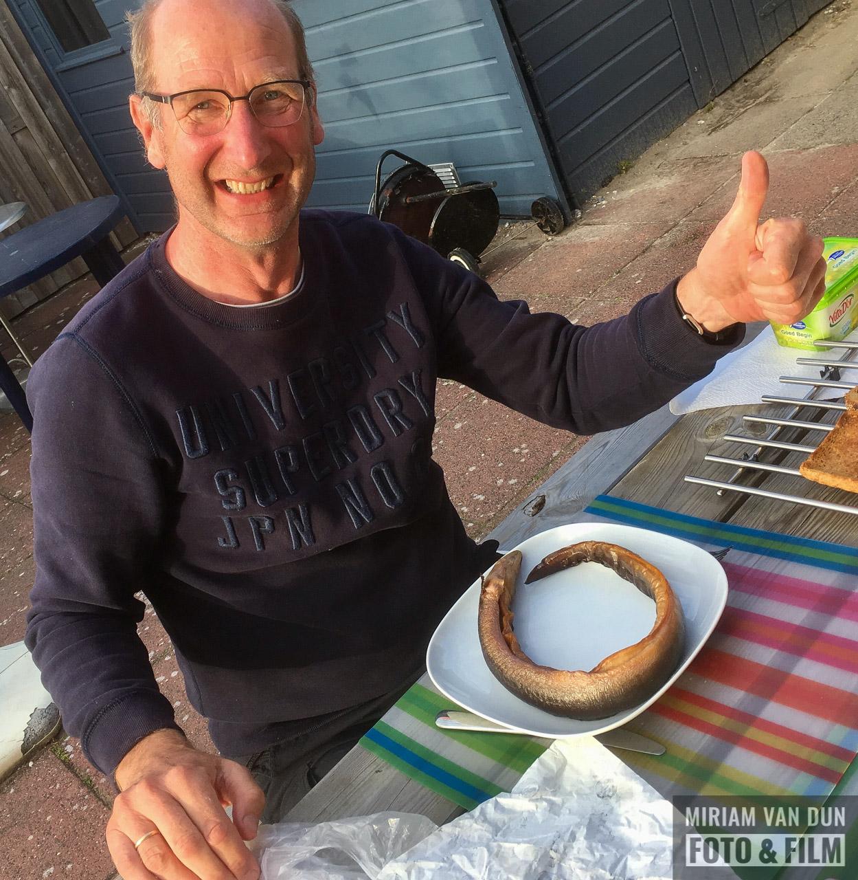 Gerookte paling uit Gaastmeer