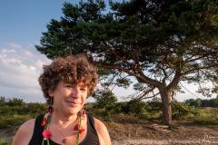 Yvonne-Deinema op de Kalmthoutse Heide