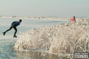 Schaatsen op de Friese meren - Wite Brekken